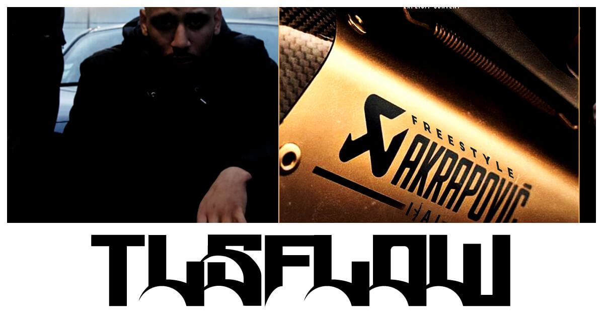 Ilal Akrapovic Freestyle share